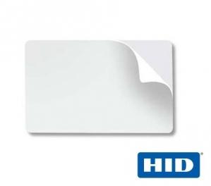 Cartões PVC Branco CR80 ADESIVADO HID