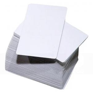 Cartões PVC Branco Padrão 54mmx 86mmx 0,30mm  caixa c/ 500 unidades
