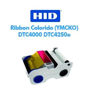 Ribbon Fargo Colorido (YMCKO) - DTC4000 DTC4250e