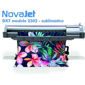 Impressora de sublimação DX7 modelo 2302