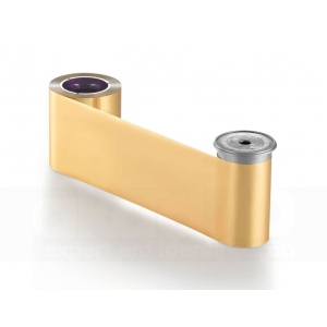 Entrust Sigma Ribbon DS Gold Metallic Ribbon, 1500 imagens