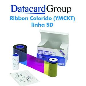 Ribbon Colorido (YMCKT)  534700-004-R002 para Datacard SD260 e SD360