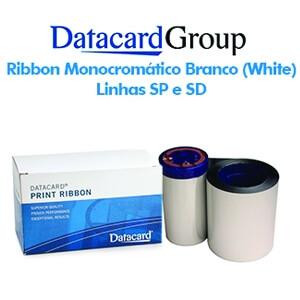 Ribbon Monocromático Branco (White) - Linhas SP e SD