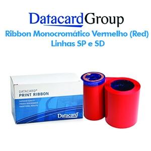 Ribbon Monocromático Vermelho (Red) - Linhas SP e SD